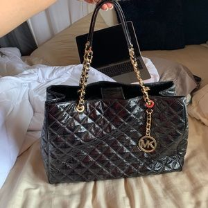 Michael Kors Quilted Leather Tote